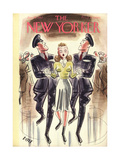 The New Yorker Cover - January 10, 1942 Regular Giclee Print by Leonard Dove