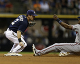 Atlanta Braves v Milwaukee Brewers Photo by Mike McGinnis
