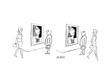 New Yorker Cartoon Premium Giclee Print by Mischa Richter