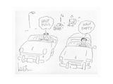 New Yorker Cartoon Premium Giclee Print by Arnie Levin