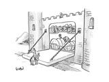New Yorker Cartoon Premium Giclee Print by Robert Leighton