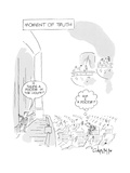 Moment of Truth. - New Yorker Cartoon Premium Giclee Print by Vahan Shirvanian