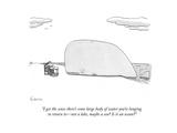New Yorker Cartoon Premium Giclee Print by Zachary Kanin