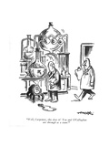 """Well, Carpenter, this does it! You and O'Callaghan are through as a team! - New Yorker Cartoon Premium Giclee Print by Henry Martin"