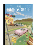 The New Yorker Cover - April 20, 2015 Regular Giclee Print by Barry Blitt