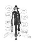 Cartoon Giclee Print by Marisa Acocella Marchetto