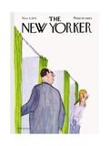 The New Yorker Cover - November 4, 1972 Premium Giclee Print by James Stevenson