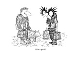 """New specs"" - New Yorker Cartoon Premium Giclee Print by Edward Koren"