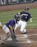 Colorado Rockies v Milwaukee Brewers Photo by Mike McGinnis