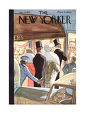 The New Yorker Cover - January 14, 1933 Premium Giclee Print by Peter Arno