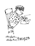 """Dear Jaqueline, As you probably already know, I love you"" - New Yorker Cartoon Premium Giclee Print by William Steig"