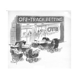 New Yorker Cartoon Premium Giclee Print by Barney Tobey