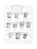 Selections from the Sliced Peach collection of Shelley M. - New Yorker Cartoon Premium Giclee Print by Roz Chast