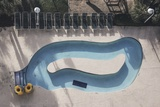 Overhead Myrtle Beach Pool Photo