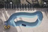 Overhead Myrtle Beach Pool Posters