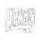 New Yorker Cartoon Premium Giclee Print by George Price