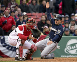 Milwaukee Brewers V. Boston Red Sox Photo by Winslow Townson