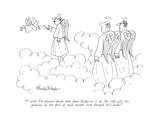 """I wish I'd known about that plan Hodgson is in. He still gets his pension…"" - New Yorker Cartoon Premium Giclee Print by J.B. Handelsman"