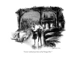"""I never realized you knew all of 'Gunga Din.' "" - New Yorker Cartoon Premium Giclee Print by Charles Saxon"