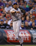Texas Rangers v Colorado Rockies Photo by Doug Pensinger