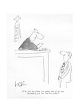 """The jury has found you guilty, but, if it's any consolation, you sure had…"" - New Yorker Cartoon Premium Giclee Print by Arnie Levin"