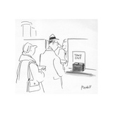 New Yorker Cartoon Giclee Print by Frank Modell