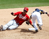 Cincinnati Reds v Milwaukee Brewers Photo by Sarah Glenn