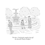 New Yorker Cartoon Premium Giclee Print by Kim Warp