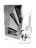 """I adore it. It's so near Schrafft's."" - New Yorker Cartoon Premium Giclee Print by James Stevenson"