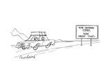 New Yorker Cartoon Premium Giclee Print by Mort Gerberg