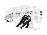 New Yorker Cartoon Premium Giclee Print by Robert J. Day