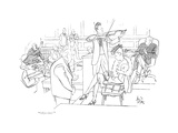"""Objection!"" - New Yorker Cartoon Premium Giclee Print by George Price"