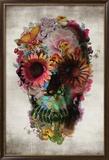 Flower Skull 高品質プリント