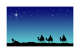 Three Wisemans and the Star of Bethlehem Posters by  IndianSummer