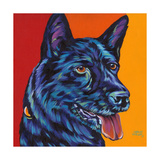 Dogs in Color I Posters by Carolee Vitaletti