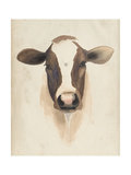 Watercolor Animal Study VII Plakat af Grace Popp