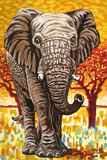Wild Africa I Poster by Carolee Vitaletti