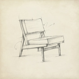 Mid Century Furniture Design I Prints by Ethan Harper
