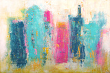 City Dreams Premium Giclee Print by Erin Ashley