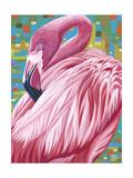 Fabulous Flamingos II Posters by Carolee Vitaletti