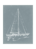 Yacht Sketches II Prints by Ethan Harper
