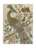 Chinoiserie Pheasant I Premium Giclee Print by Chariklia Zarris