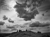 Hill Top Landscape Photographic Print by Martin Henson