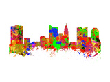 Columbus City Ohio Prints by  chris2766