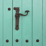 Rustic Turquoise Details II Photographic Print by Lillian Bell