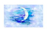 Background as Nightly Sky Prints by Natalia Rashevskaya