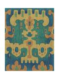 Sunset Ikat II Poster by Chariklia Zarris