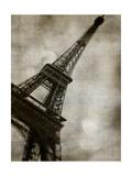 Vintage Eiffel II Poster by Honey Malek