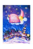 Sleeping Moon Poster van  DannyWilde