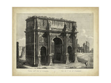 Arco di Constantino Premium Giclee Print by Pietro Parboni